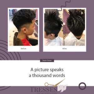Professional Men's Hair Cut