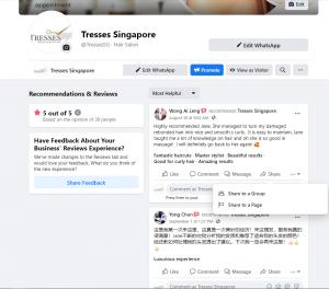 Tresses FB review clip